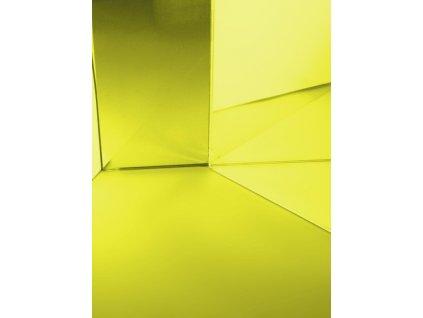 Dichrofiltr 345 x 333 x 4 mm, žlutý