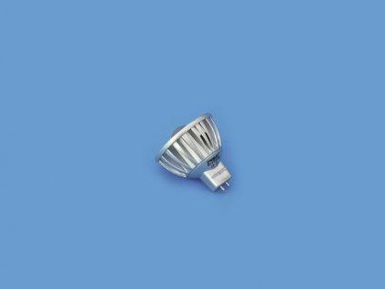 12V MR-16 GU-5.3 Omnilux, 3W LED modrá