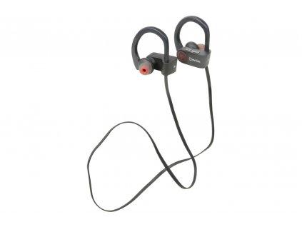 AV:link Sporty In-Ear Bluetooth sluchátka, voděodolná, černá