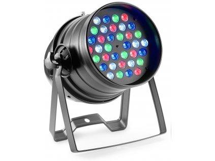 Stagg LED PAR, 36x3W RGBW, DMX, černý