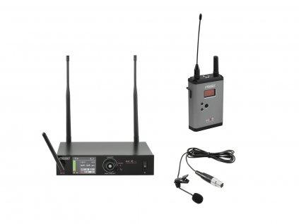 PSSO Set WISE ONE, přijímač + vysílač + klopový mikrofon 638 - 668 MHz