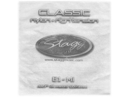 """Stagg CLH-B2N, struna """"H"""", nylon, vysoké pnutí"""