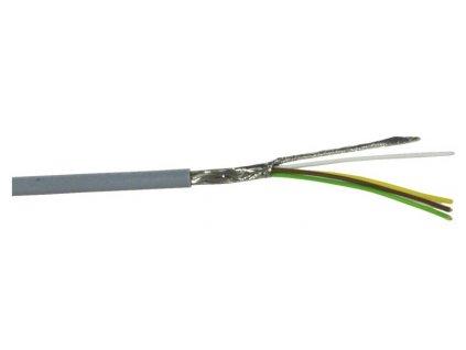 Kabel datový stíněný LiYCY 4x0.14 qmm, role 100m