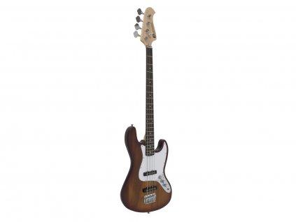 Dimavery JB-302, elektrická baskytara, sunburst