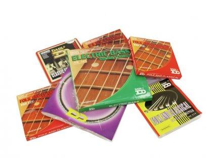 Dimavery sada strun pro akustickou kytaru, 012-054