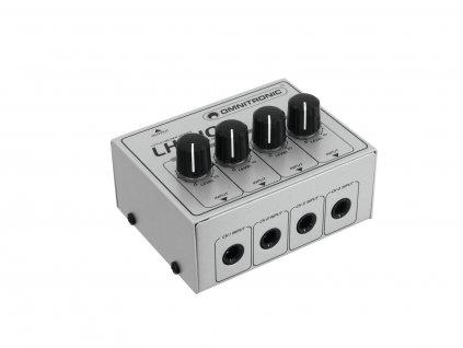 Omnitronic LH-010, mini mixážní pult 4-kanálový