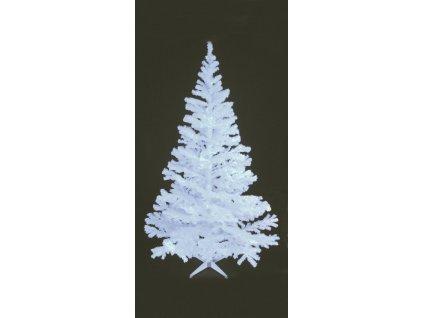 Umělý vánoční stromek UV bílý, 210 cm