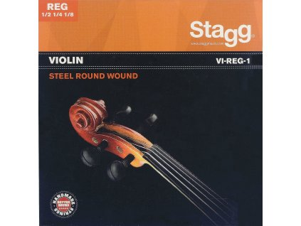 Stagg VI-REG-1, sada strun pro 1/8, 1/4 a 1/2 housle