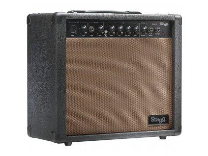 Stagg 20 AA R, kombo pro elektroakustickou kytaru, 20W
