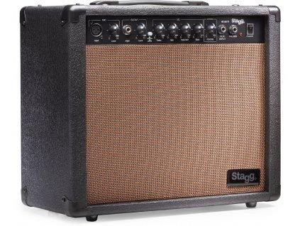 Stagg 40 AA R, kombo pro elektroakustickou kytaru, 40W