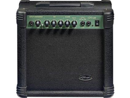 Stagg 15 GA DR, kombo pro elektrickou kytaru, 15W