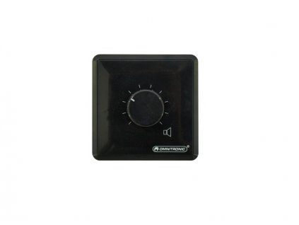 Omnitronic ELA LS - regulátor stereo 20 W -černý