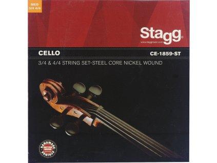 Stagg CE-1859-ST, sada strun pro violoncello
