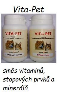 směs vitaminů, stopových prvků a minerálů