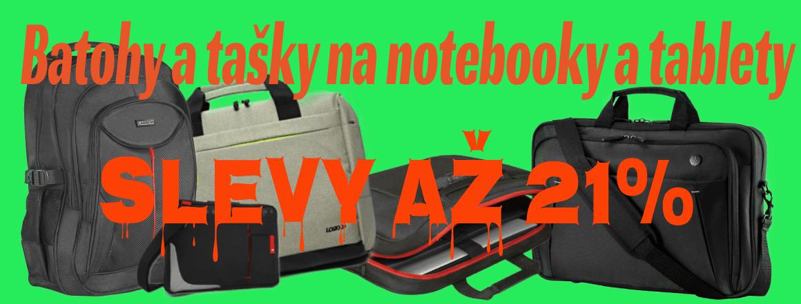 batohy a tašky na notebooky