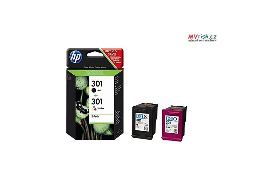 hp 301 2 pack