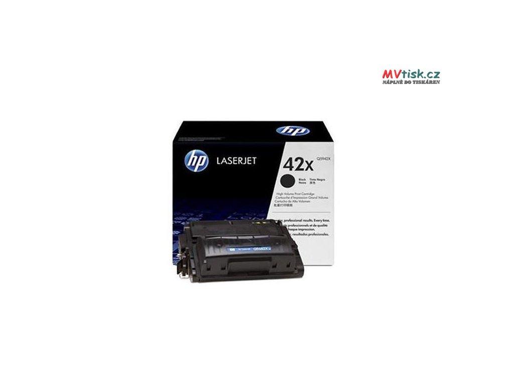 hp 42x high yield black original toner cartridge q5942x
