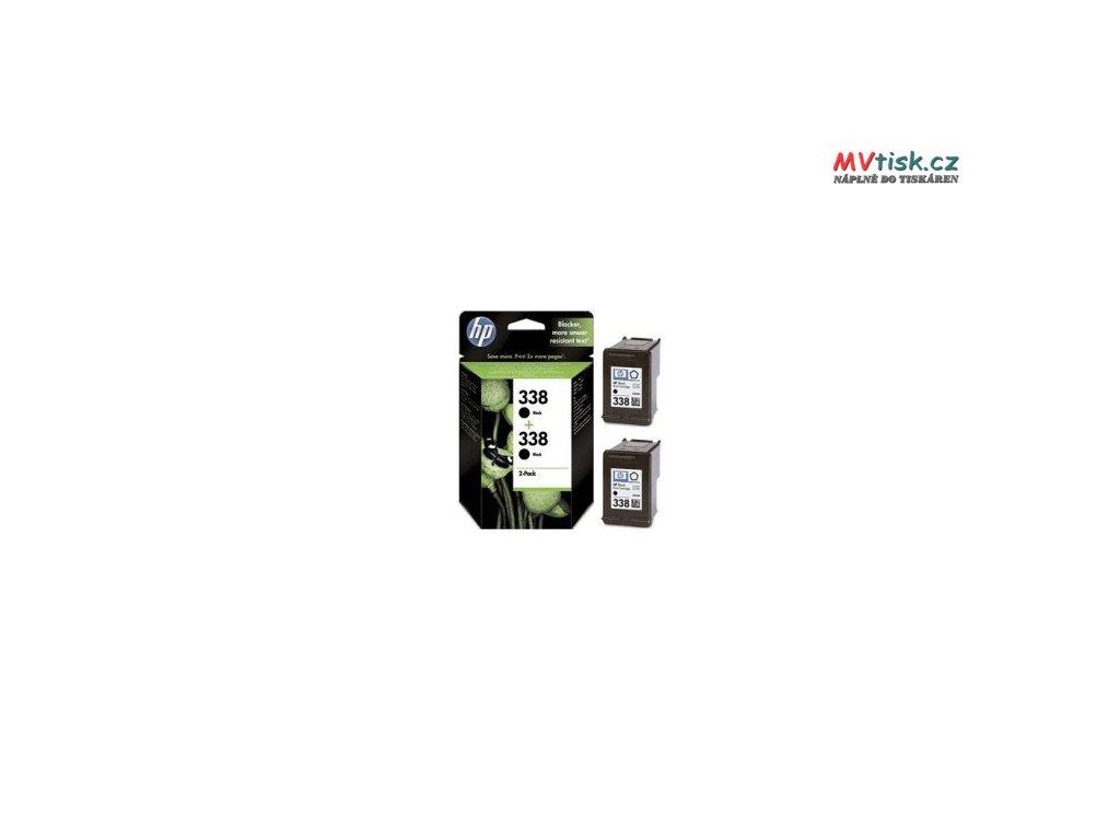 HP 338 2 pack cb331ee originál