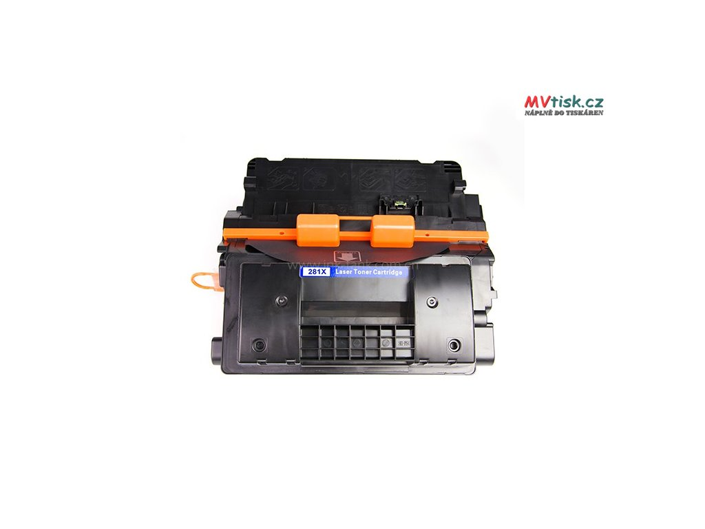 HP 81X Black Toner Cartridge High Yield CF281X