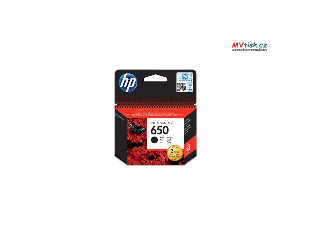 hp originalni ink cz101ae hp 650 black blistr 360str hp deskjet ink advantage 2515 aio 3515 e ai0 3545 i87393
