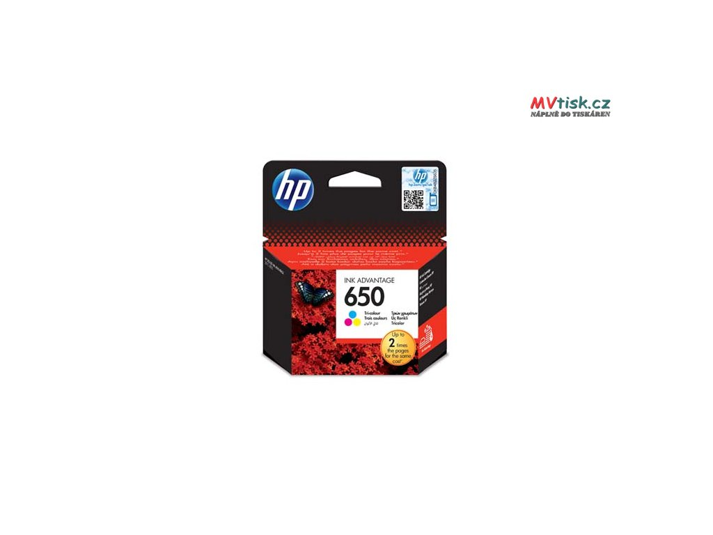 hp originalni ink cz102ae hp 650 color 200str hp deskjet ink advantage 2515 aio 3515 e ai0 3545 i87314