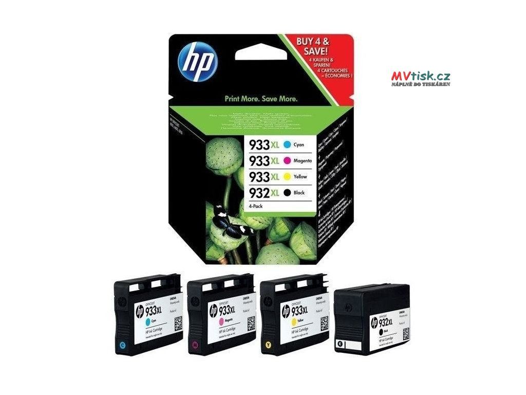 cartridge hp 932xl hp 933xl hp c2p42ae 4 ks