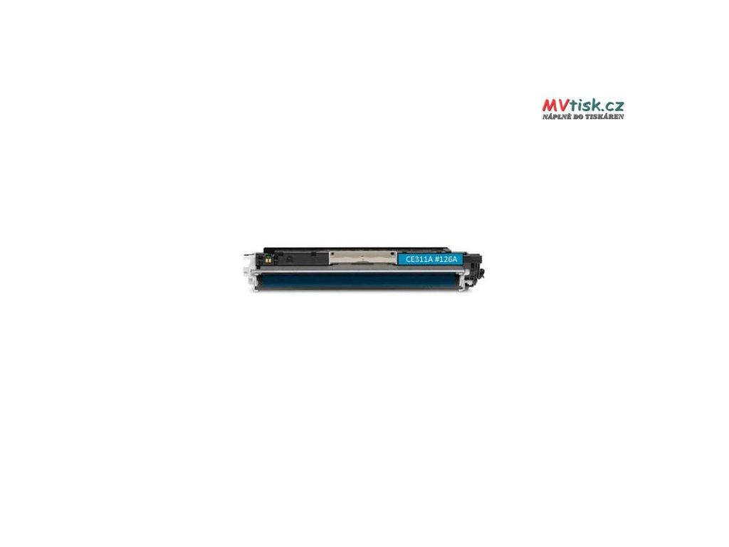ce311a 126a cyan kompatibilni tonerova kazeta barva naplne azurova 1000 stran i84881