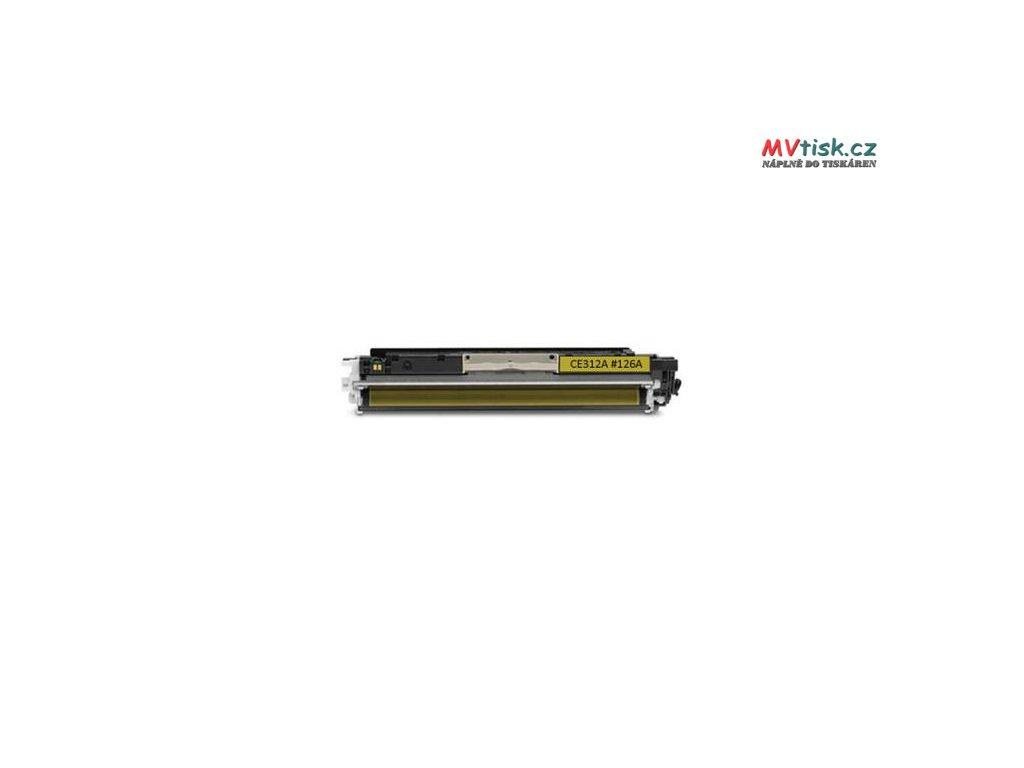 ce312a 126a yellow kompatibilni tonerova kazeta barva naplne zluta 1000 stran i85186