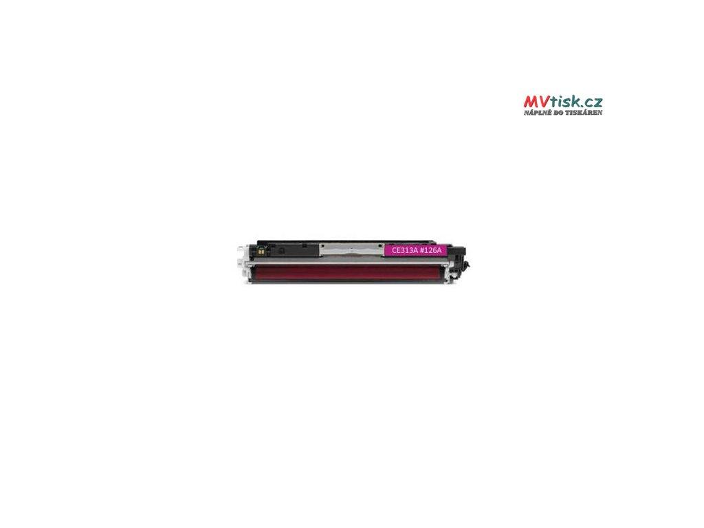 ce313a 126a magenta kompatibilni tonerova kazeta barva naplne purpurova 1000 stran i85194