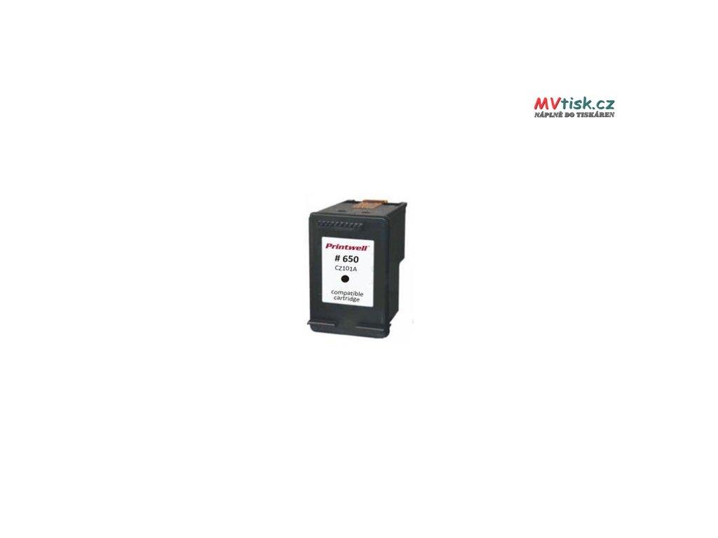 cz101ae no 650 xl black inkoustova kazeta new chip barva naplne cerna 1250 stran i131112