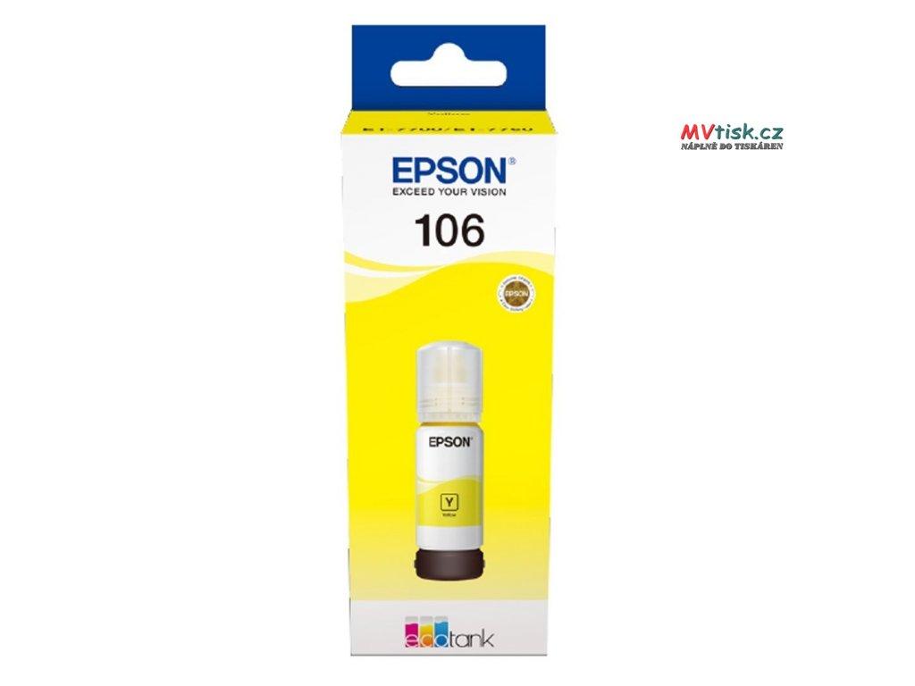 epson 106 c13t00r440 lahev s inkoustem originalni s