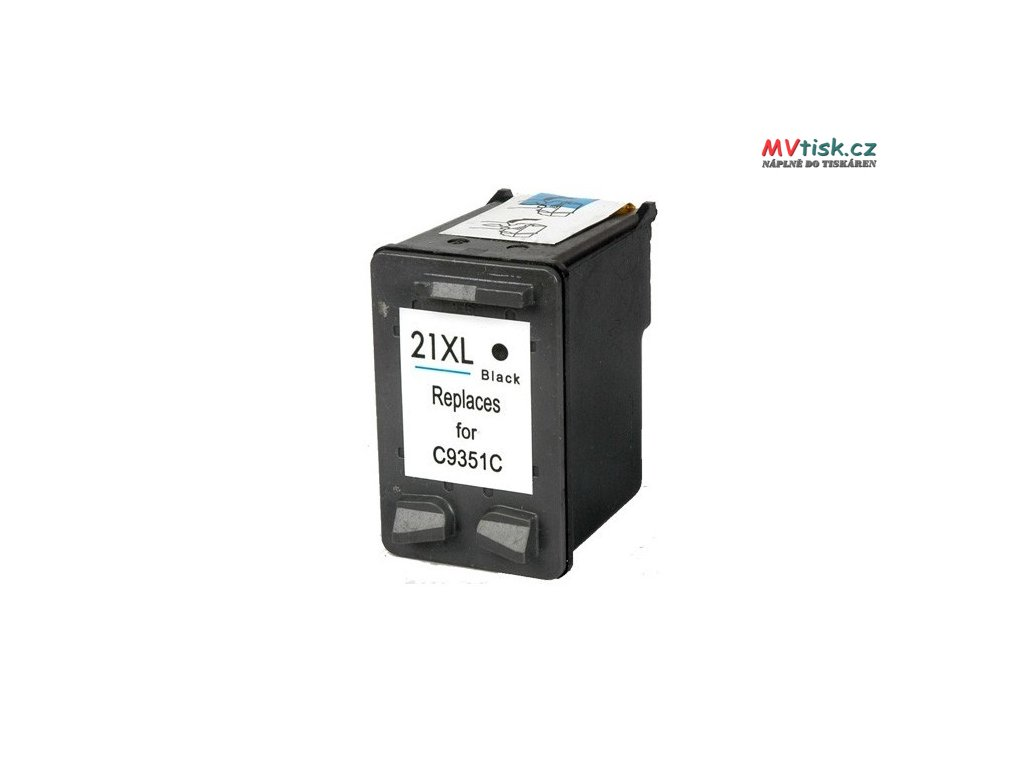 ink cartridge compatible black hp 21xl c9351c