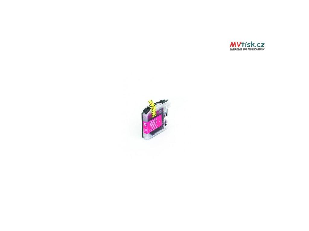 tn kompatibilni inkoustova cartridge s brother lc 525 xl magenta 16ml 2422
