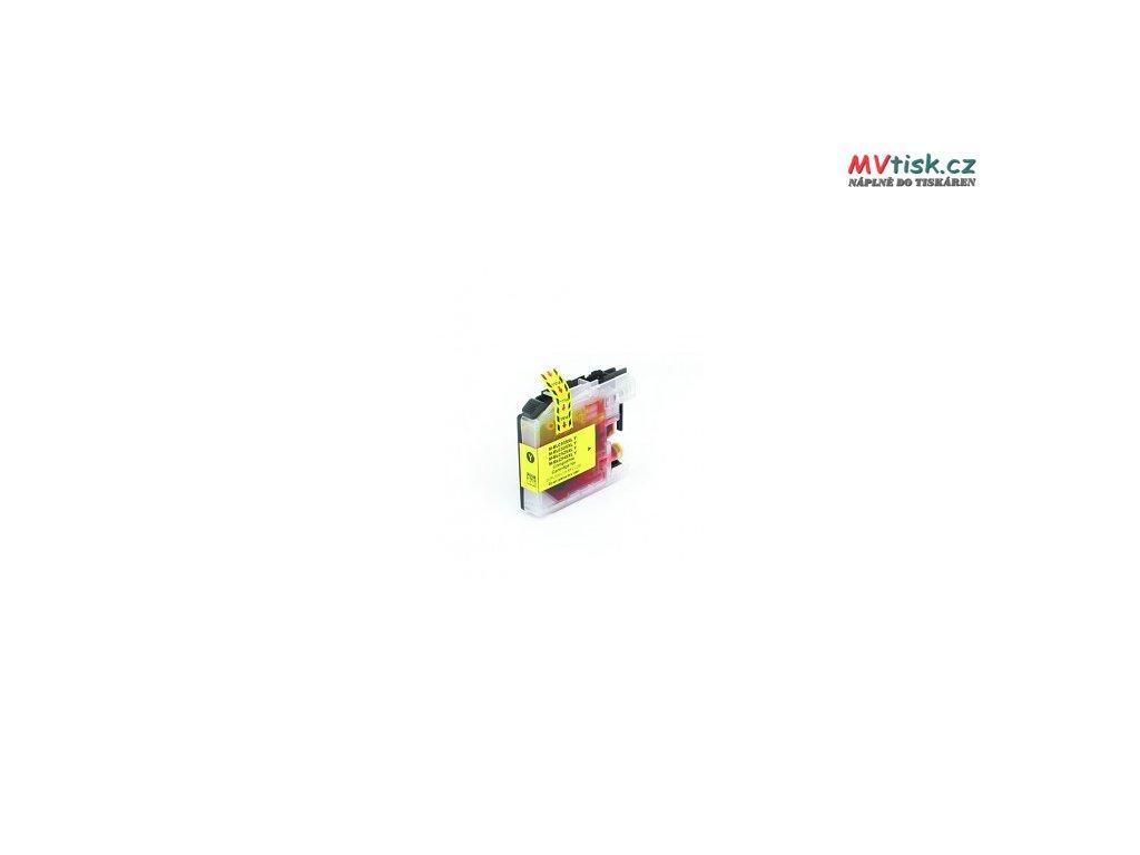 tn kompatibilni inkoustova cartridge s brother lc 525 xl yellow 16ml 2423