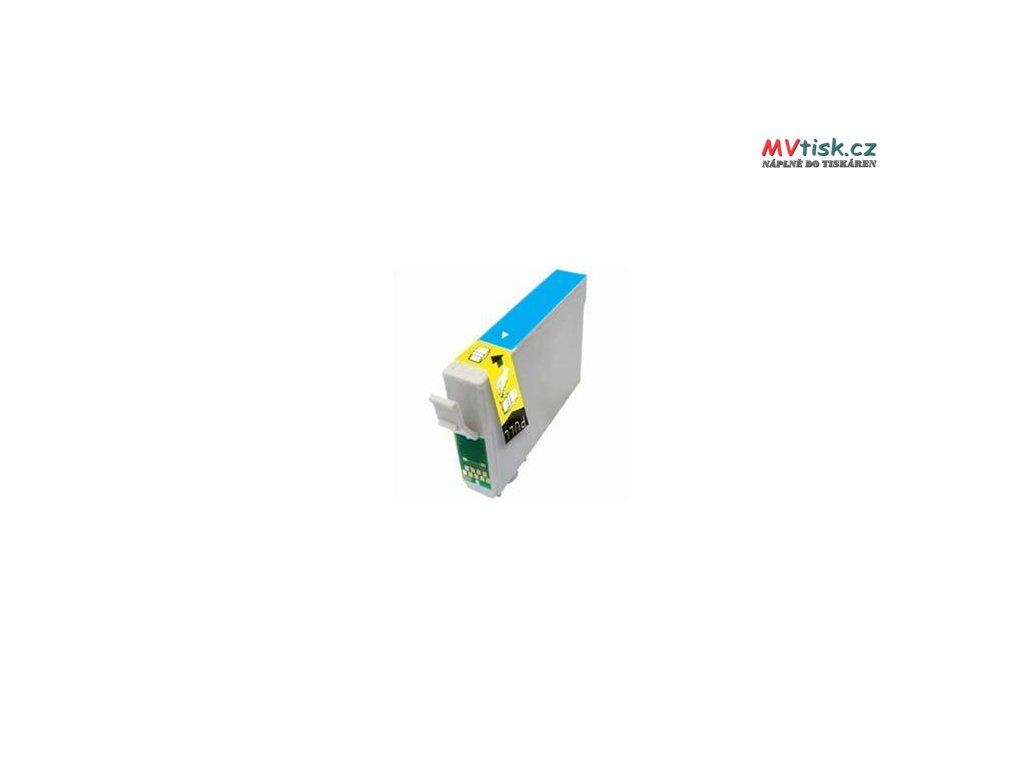 Epson T0712 Kompatibilní inkoustová kazeta Azurová (13ml)