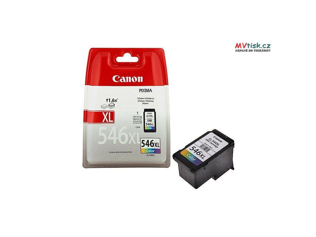 canon cl546 xl colour ink cartridge cmy