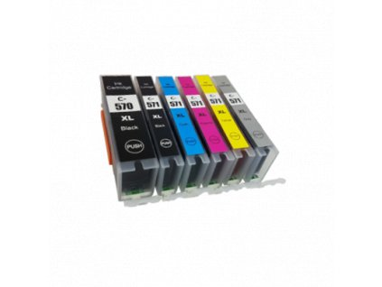 Canon PGI570XL CLI571XL Compatible Ink Multipack 6 Inks