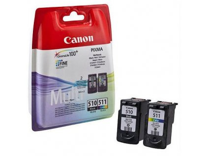 canon pg 510+cl 511