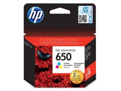 hp originalni ink cz102ae hp 650 color 200str hp deskjet ink advantage 2515 aio 3515 e ai0 3545 i87314