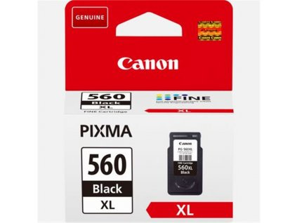 canon 3712c001 PG 560XL black černá