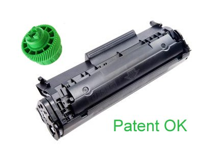Kompatibilní toner HP Q2612A/Canon FX-10 2000 kopií
