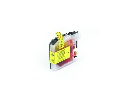 tn kompatibilni inkoustova cartridge s brother lc 525 xl yellow 16ml 2423
