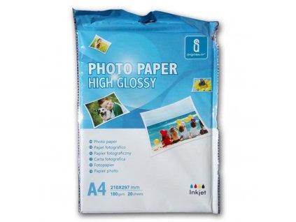 Fotopapír lesklý A4 - 180g (20listů)