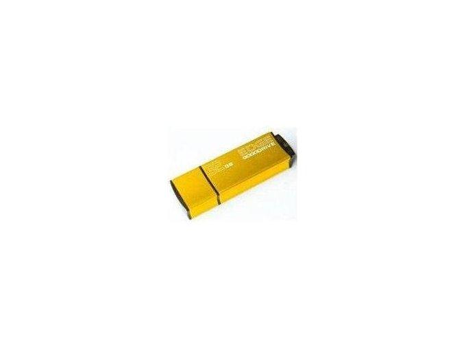 GOODRAM EDGE 32GB, flashdisk, USB2.0, barva zlatá