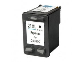 ink cartridge compatible black hp 21xl c9351c