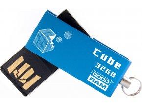 GoodDrive 32GB USB 2.0 CUBE Blue BOX