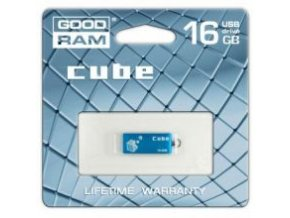 GoodDrive 16GB USB 2.0 CUBE Blue BOX