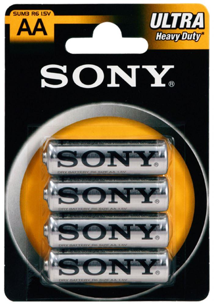 SONY Baterie tužkové SUM3NUB4A, 4ks R06/AA ULTRA