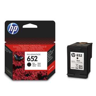 Originální inkoustová kazeta HP 652BK (360 stran při 5% pokrytí) Originální inkoustová kazeta pro tiskárny HP 652 BK černá ( black ) HP F6V25AE No.652