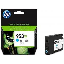 HP F6U16AE - originální velkokapacitní inkoustová kazeta HP 953XL azurová 1x1600 stran HP F6U16AE - originální velkokapacitní inkoustová kazeta HP 953XL (Cyan) do tiskáren HP OfficeJet Pro 7720, 8210, 8740
